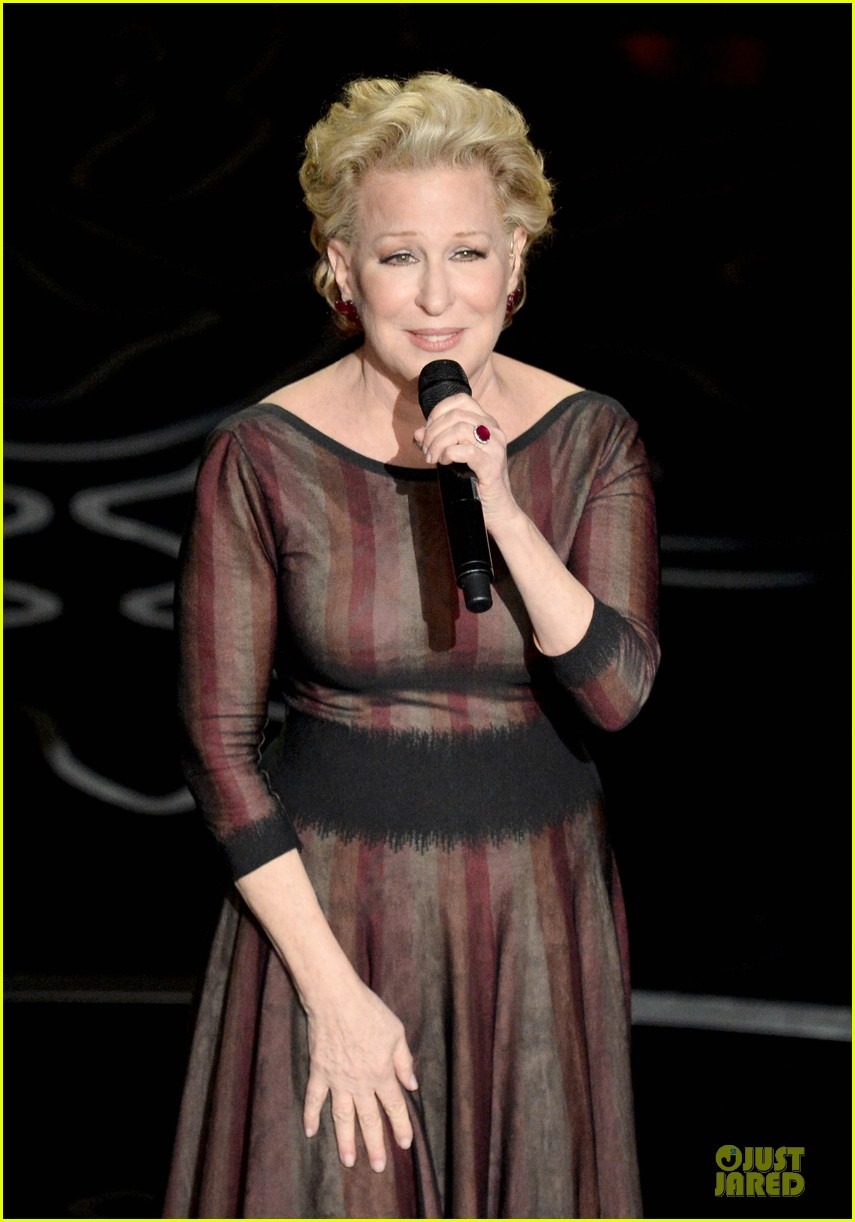 bette midler performs wind beneath my wings at oscars 2014 video 053064167