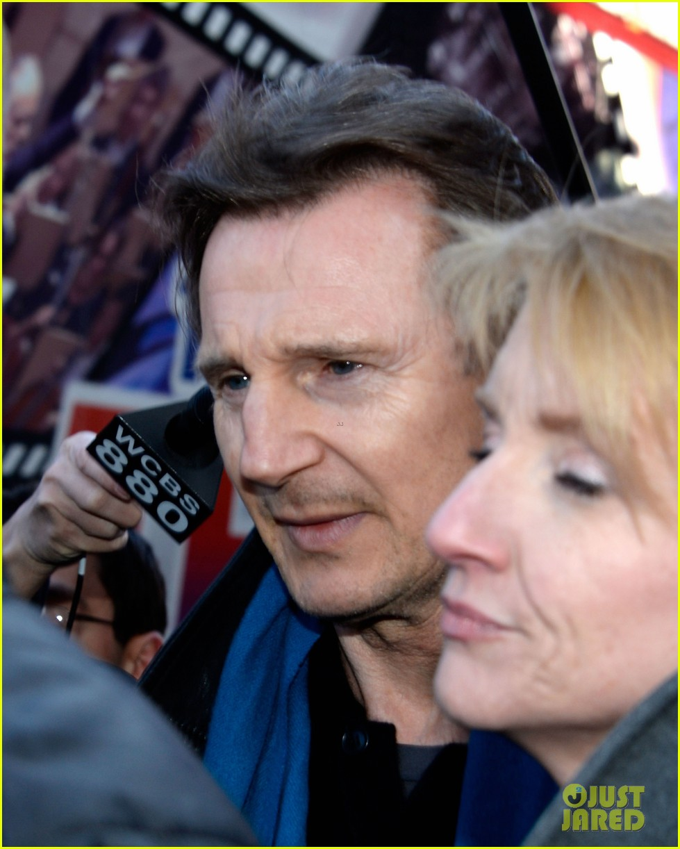 liam neeson horse drawn carriage support 043069144
