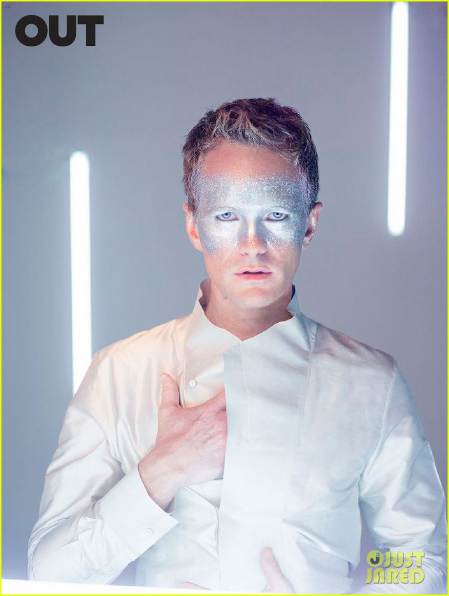 neil patrick harris shirtless glitter out 043069943