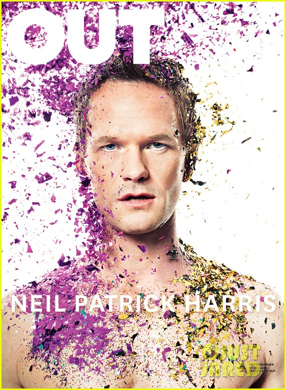 neil patrick harris shirtless glitter out 063069945