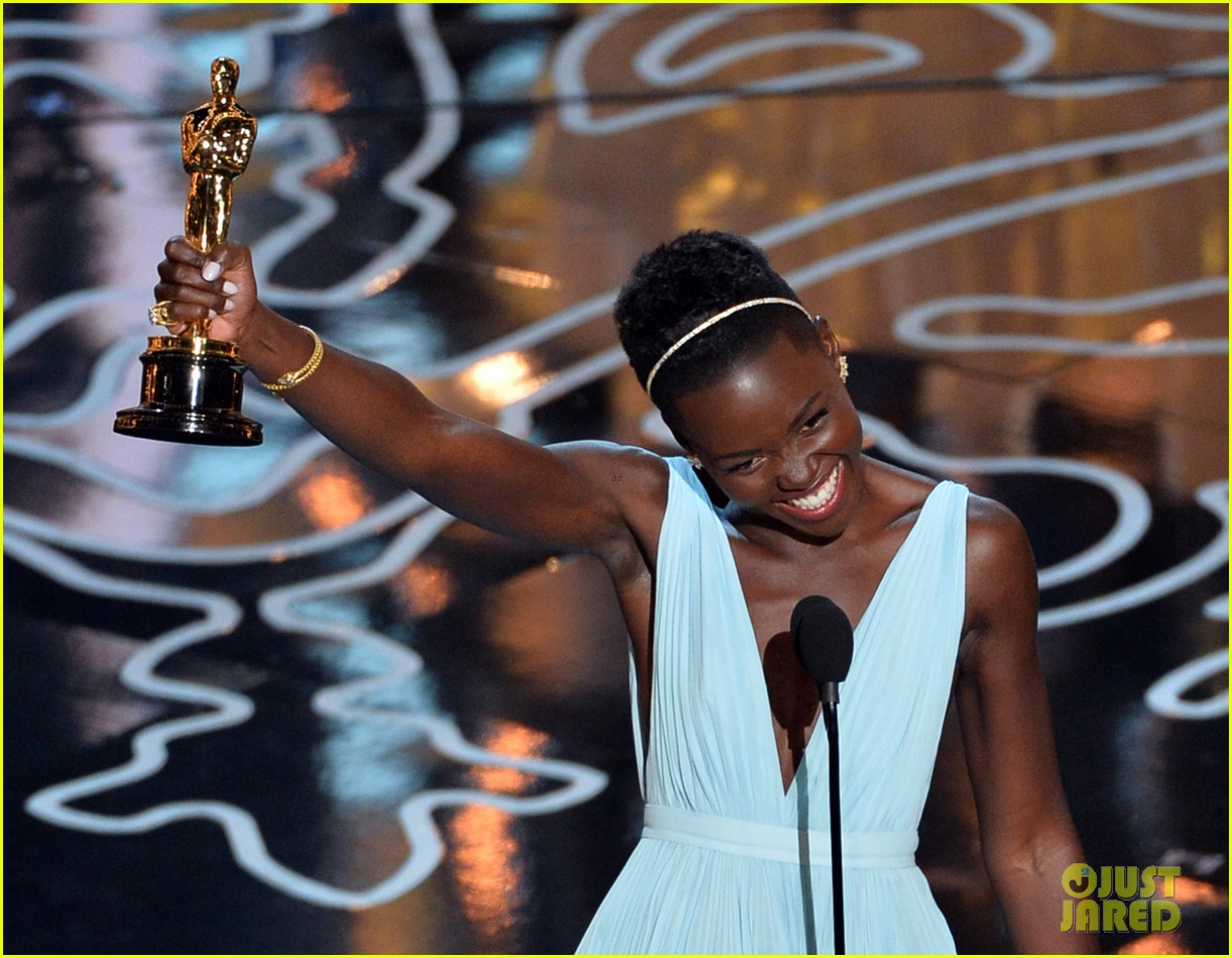 lupita nyongo oscars acceptance speech video watch now 063064128