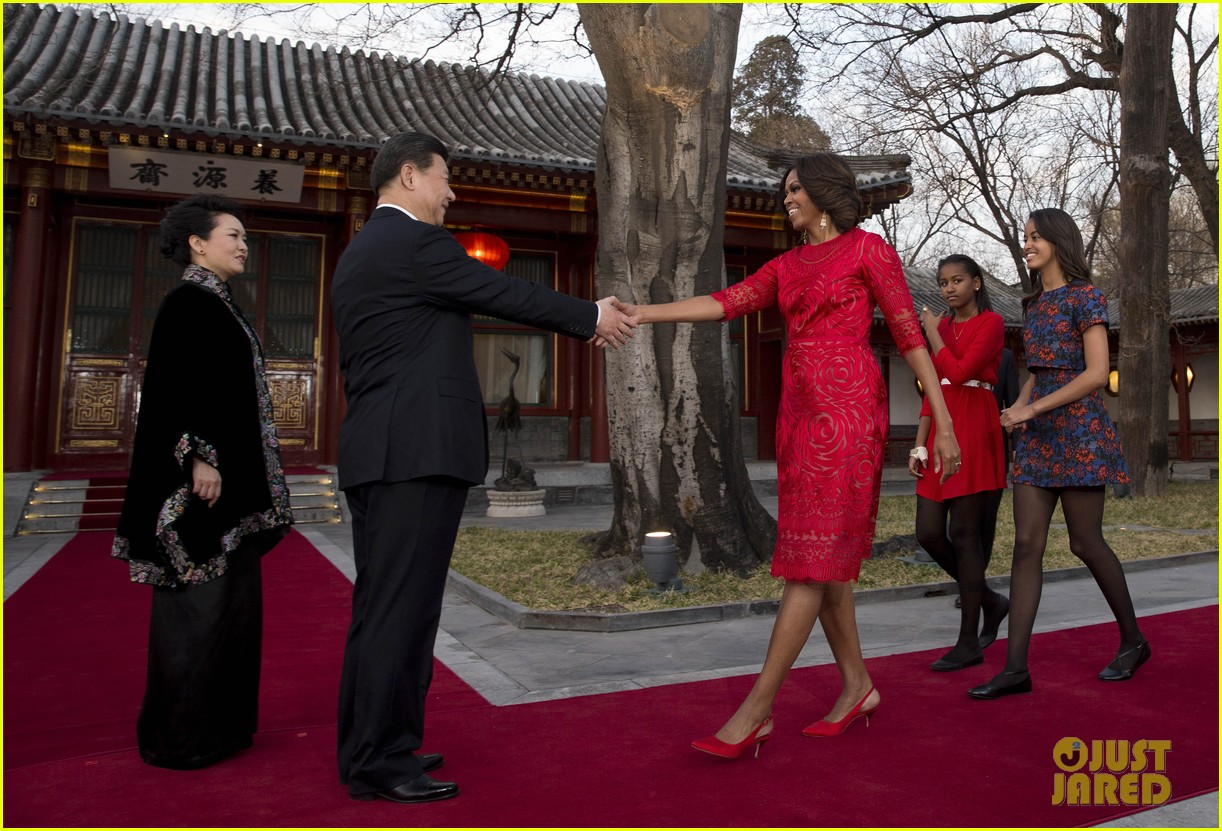 michelle obama travels around china three days of photos 01