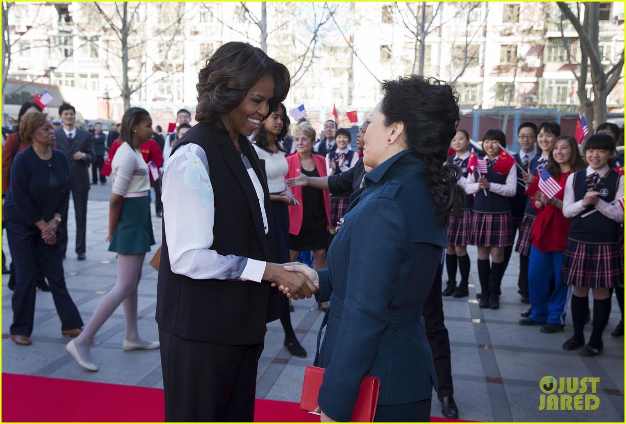 michelle obama travels around china three days of photos 123076742