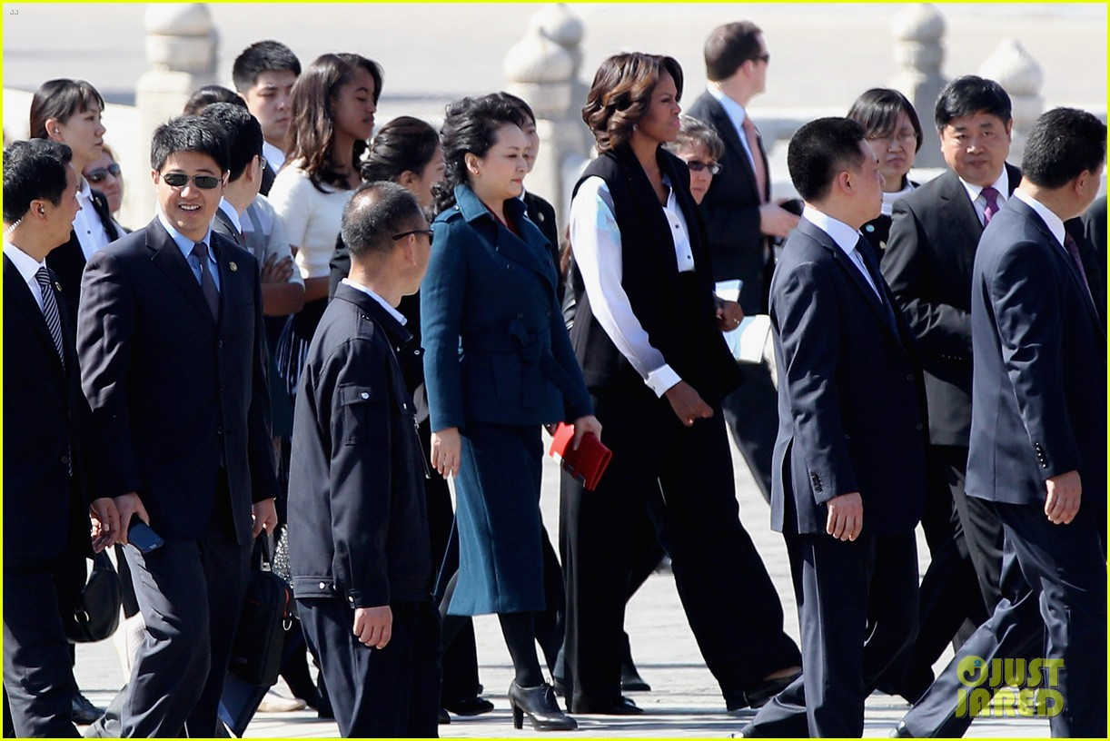 michelle obama travels around china three days of photos 133076743