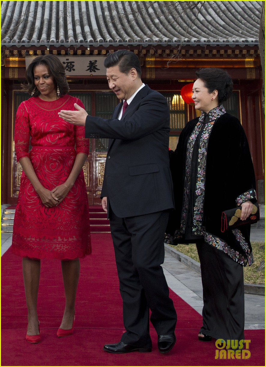 michelle obama travels around china three days of photos 153076745