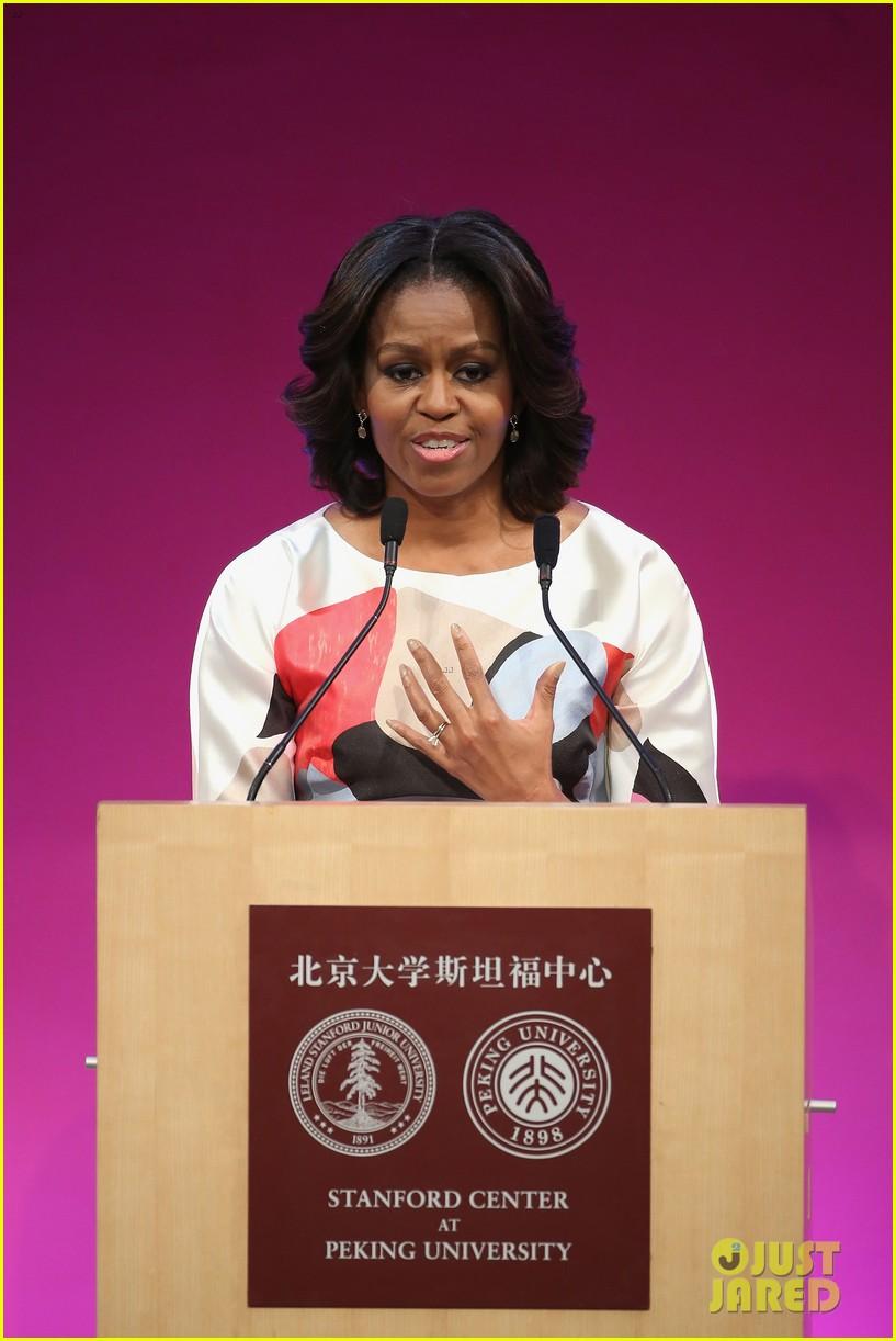 michelle obama travels around china three days of photos 173076747