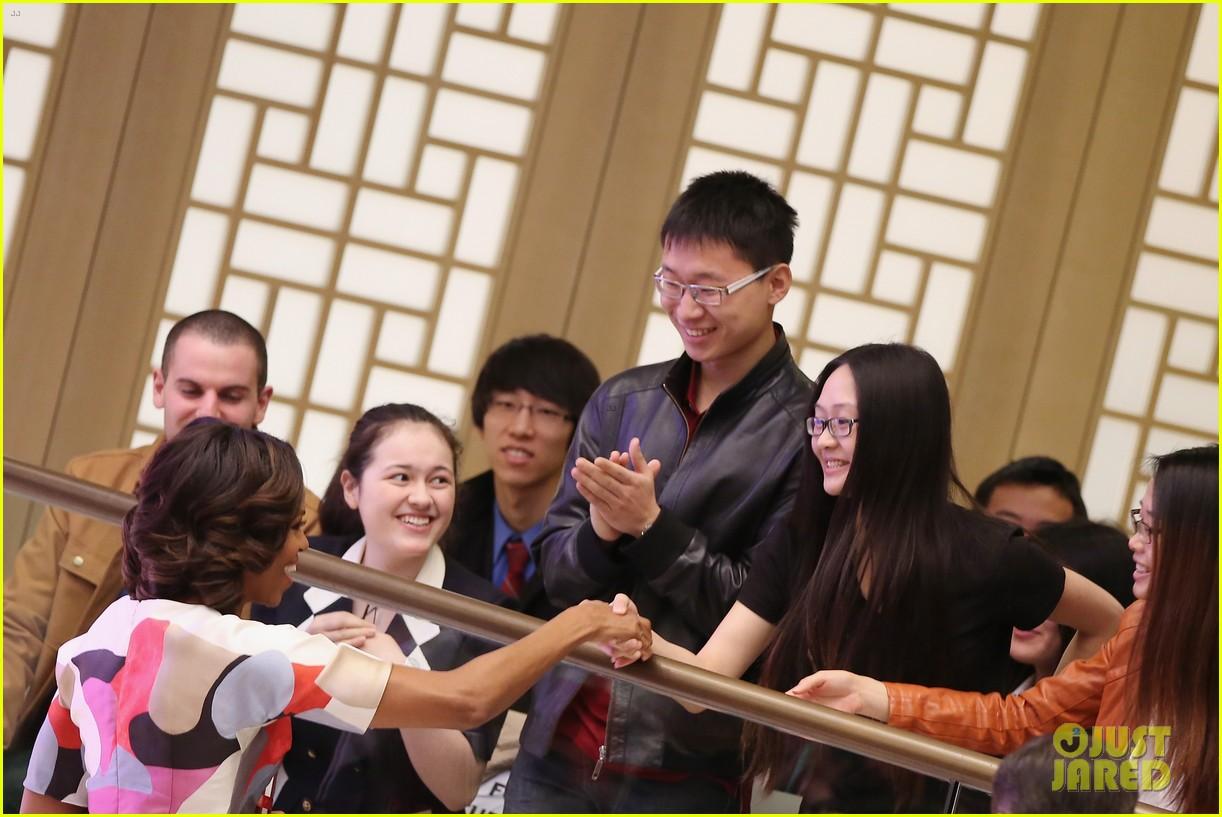 michelle obama travels around china three days of photos 183076748
