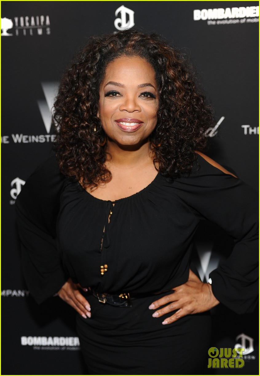 oprah chiwetel ejiofor attend pre oscars party 093063600