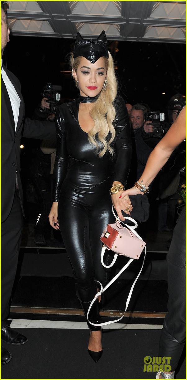 rita ora sexy catwoman in london 333081051