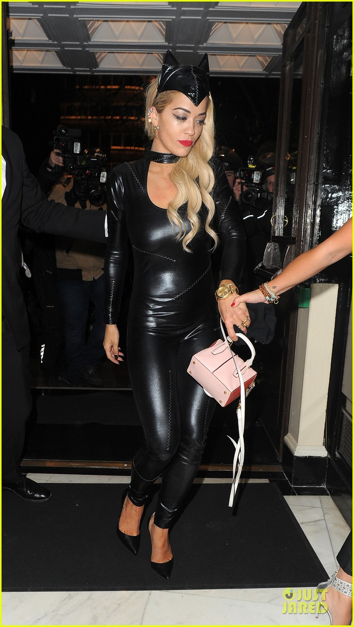 rita ora sexy catwoman in london 343081052