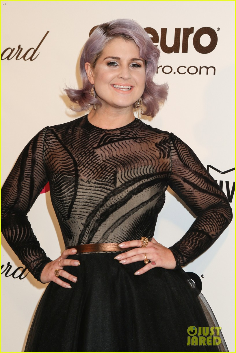 kelly osbourne elton john oscars party 2014 with mom dad 123064457