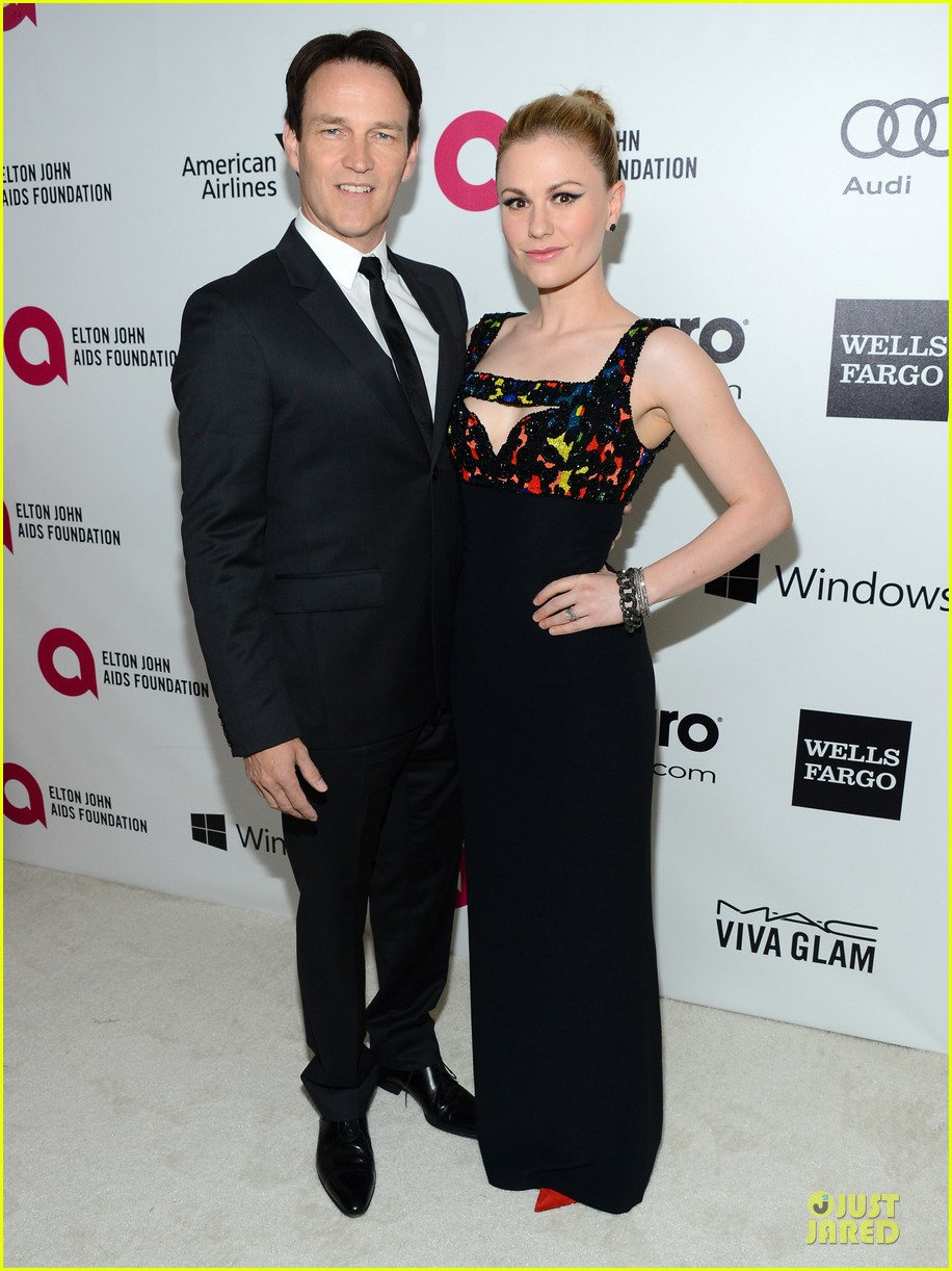 anna paquin stephen moyer elton john oscars party 2014 053064102