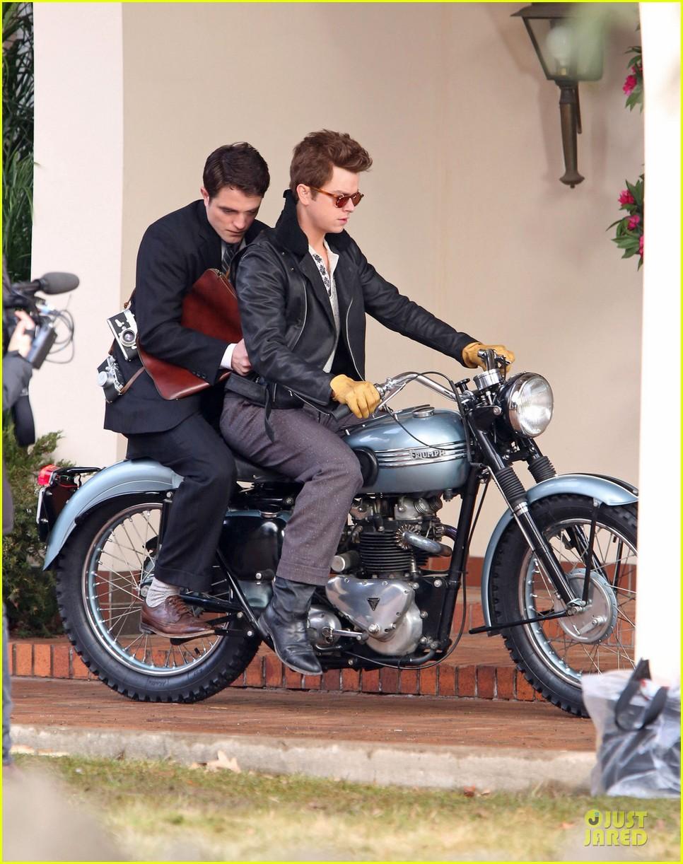 robert pattinson dane dehaan enjoy life on a motorcycle 013070130