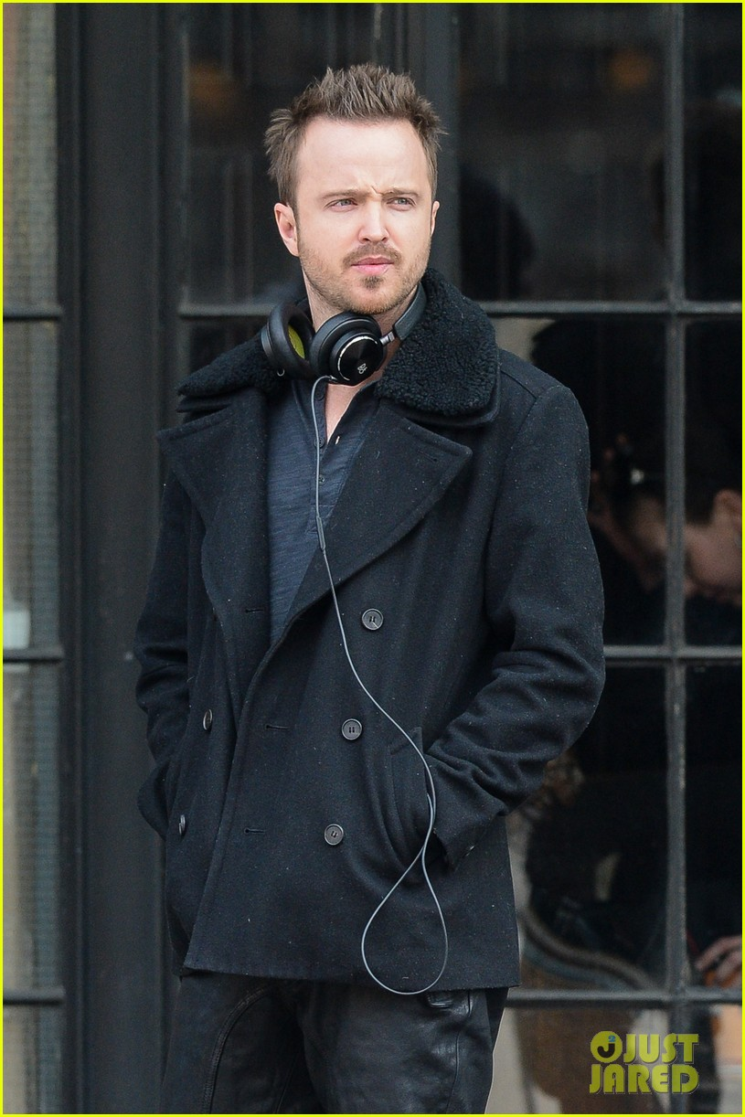 aaron paul cant wait to have kids hopes they are mini versions lauren parsekian 013071971