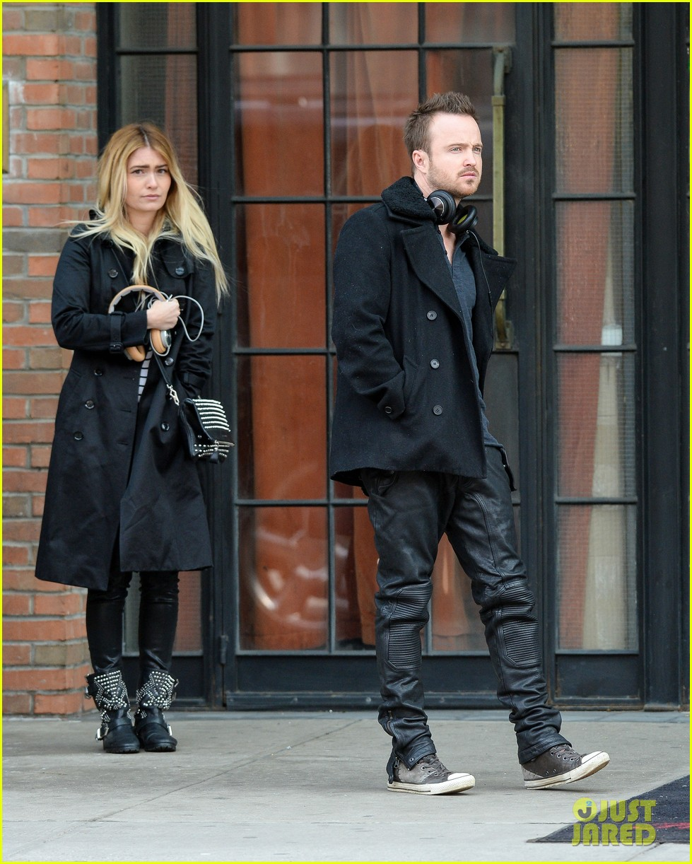 aaron paul cant wait to have kids hopes they are mini versions lauren parsekian 033071973