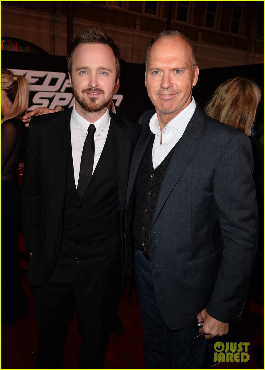 aaron paul imogen poots need for speed premiere 063067559