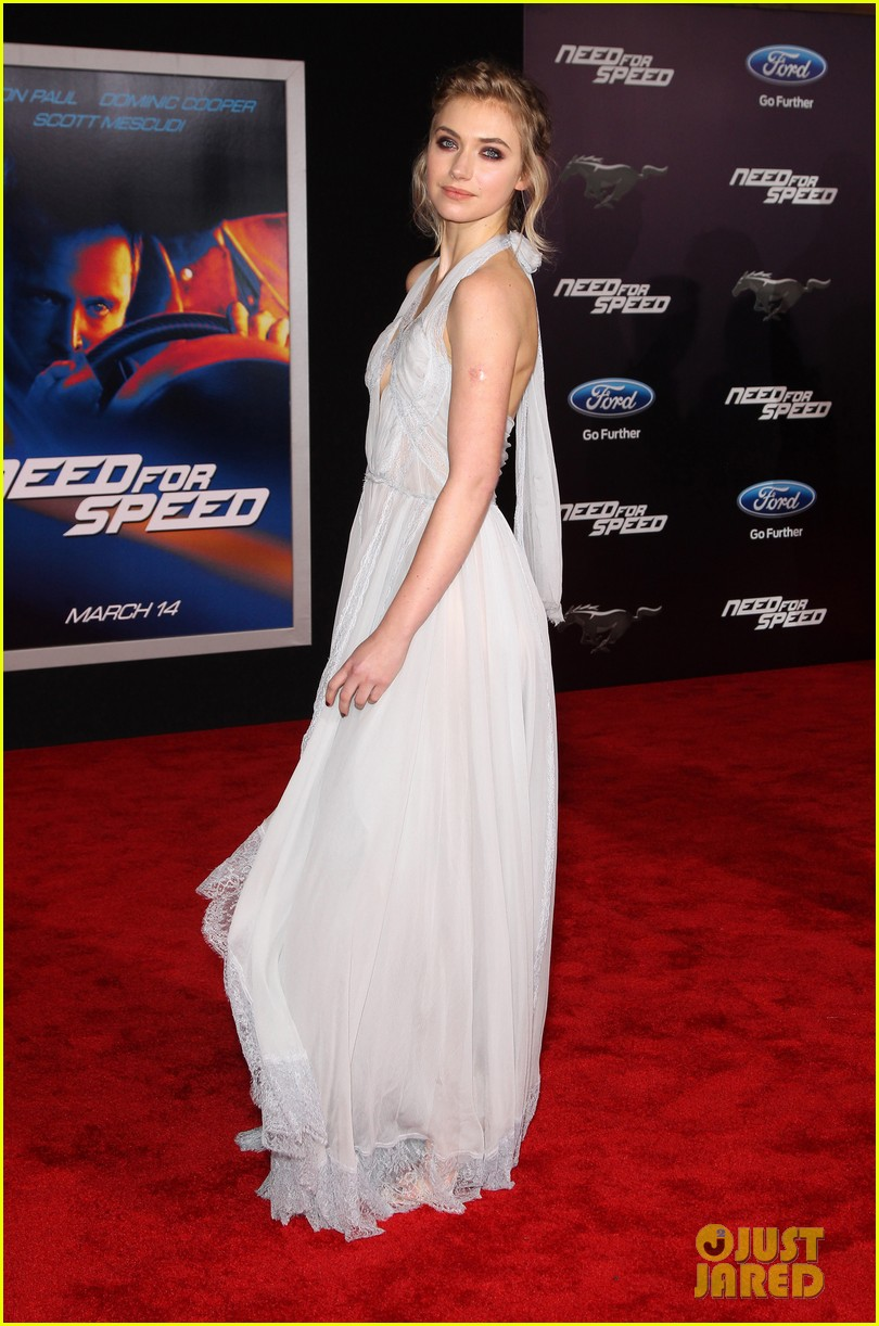 aaron paul imogen poots need for speed premiere 20