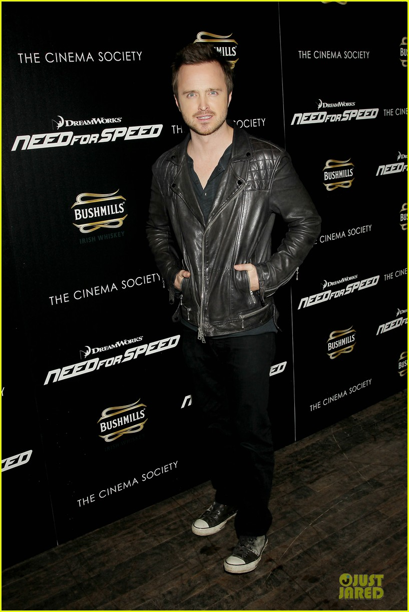 aaron paul ramon rodriguez need for speed nyc screening 033070137