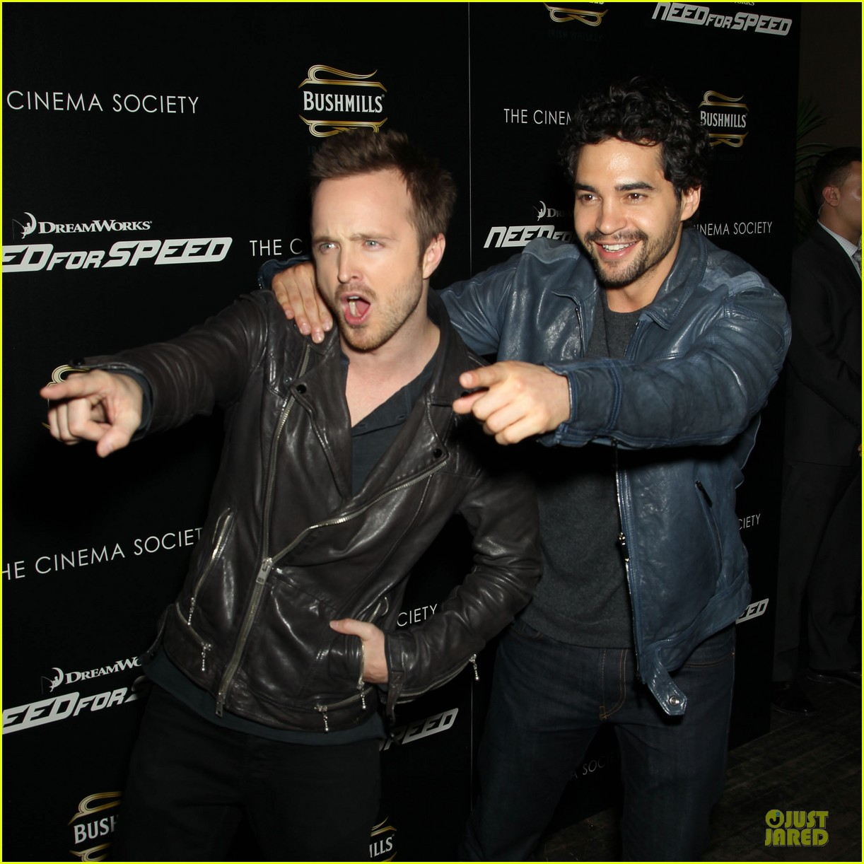 aaron paul ramon rodriguez need for speed nyc screening 043070138