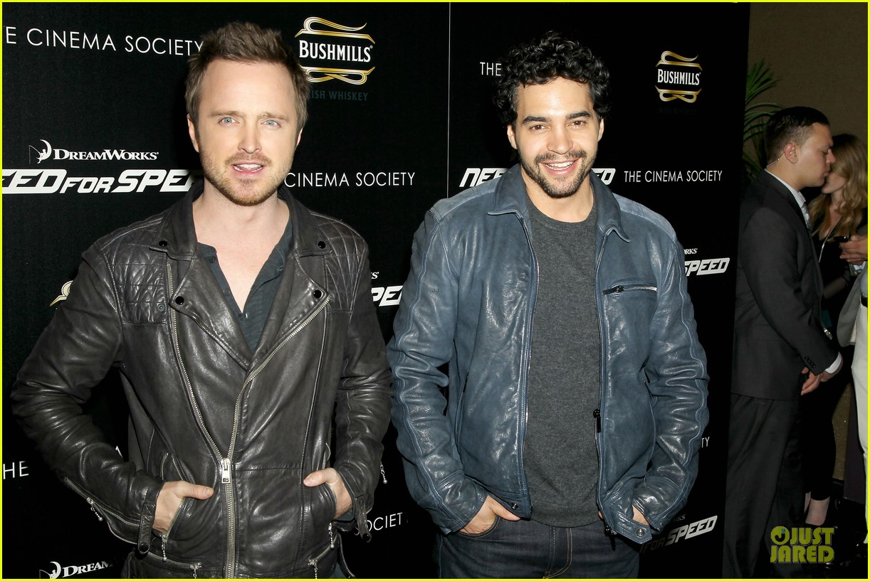 aaron paul ramon rodriguez need for speed nyc screening 143070148