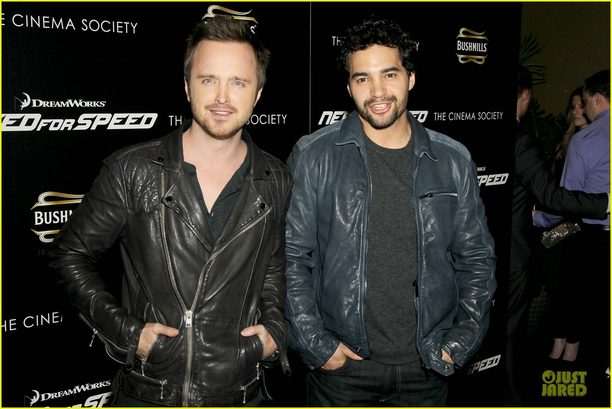 aaron paul ramon rodriguez need for speed nyc screening 153070149