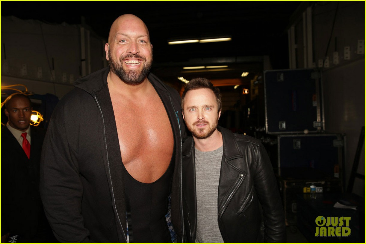 aaron paul has a need for speed on wwes monday night raw 07
