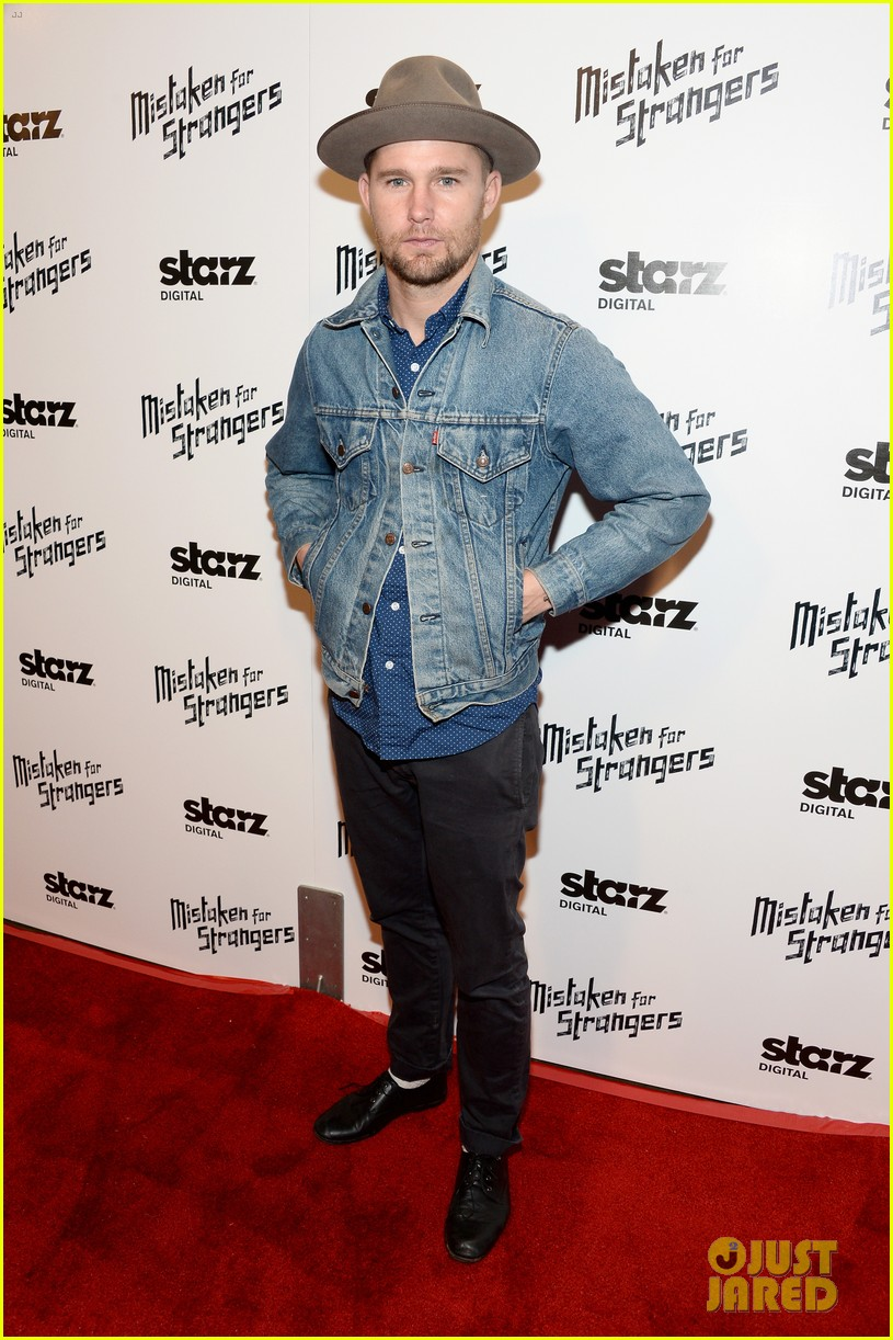busy philipps darren criss step out for mistaken for strangers screening 053078765