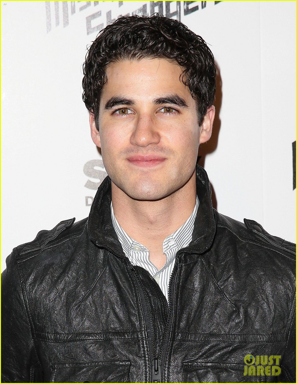 busy philipps darren criss step out for mistaken for strangers screening 093078769