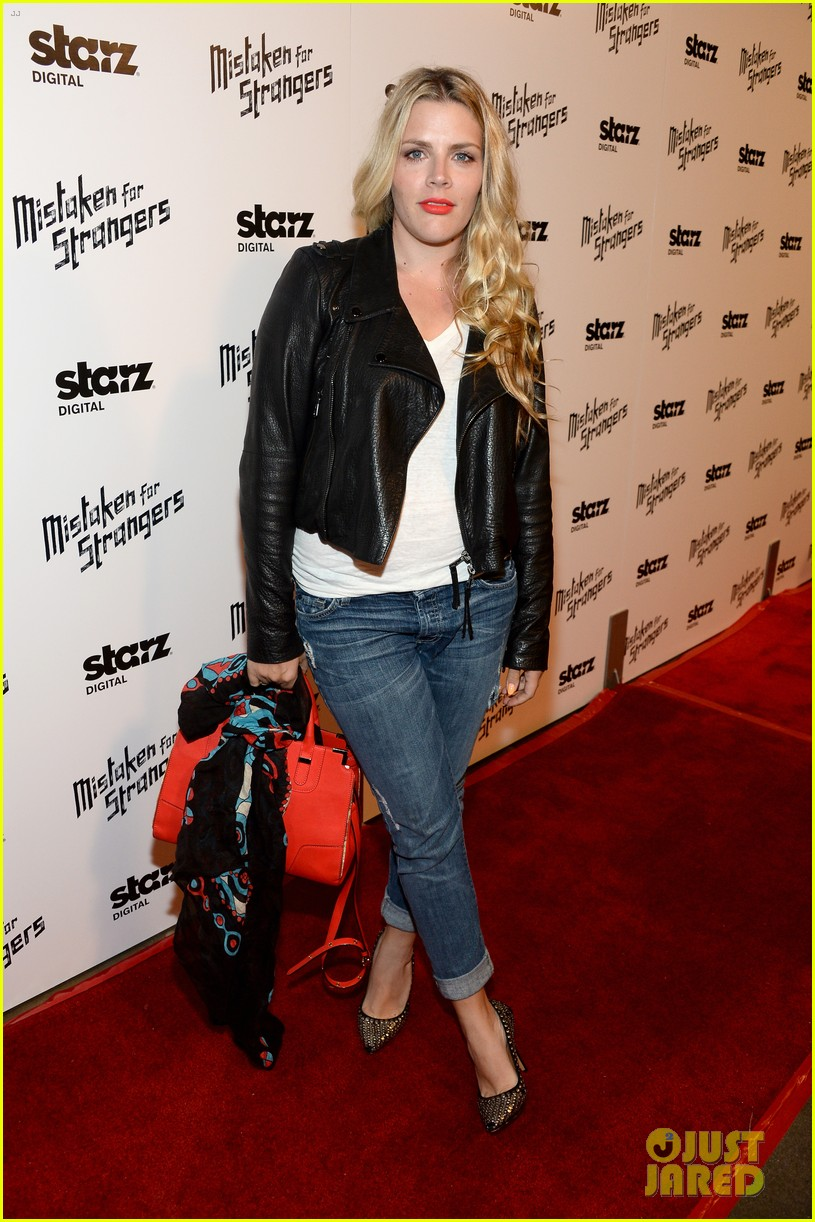busy philipps darren criss step out for mistaken for strangers screening 10
