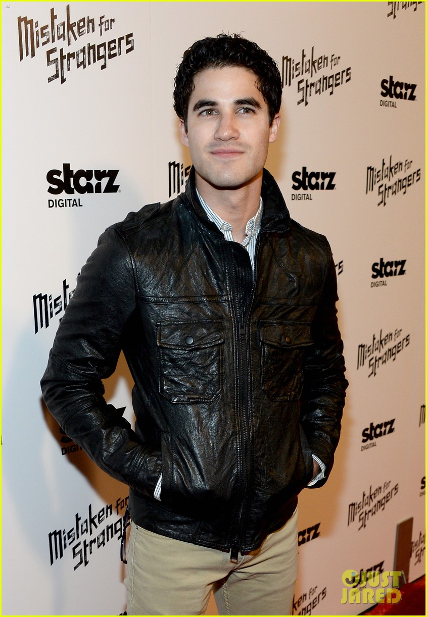busy philipps darren criss step out for mistaken for strangers screening 113078771