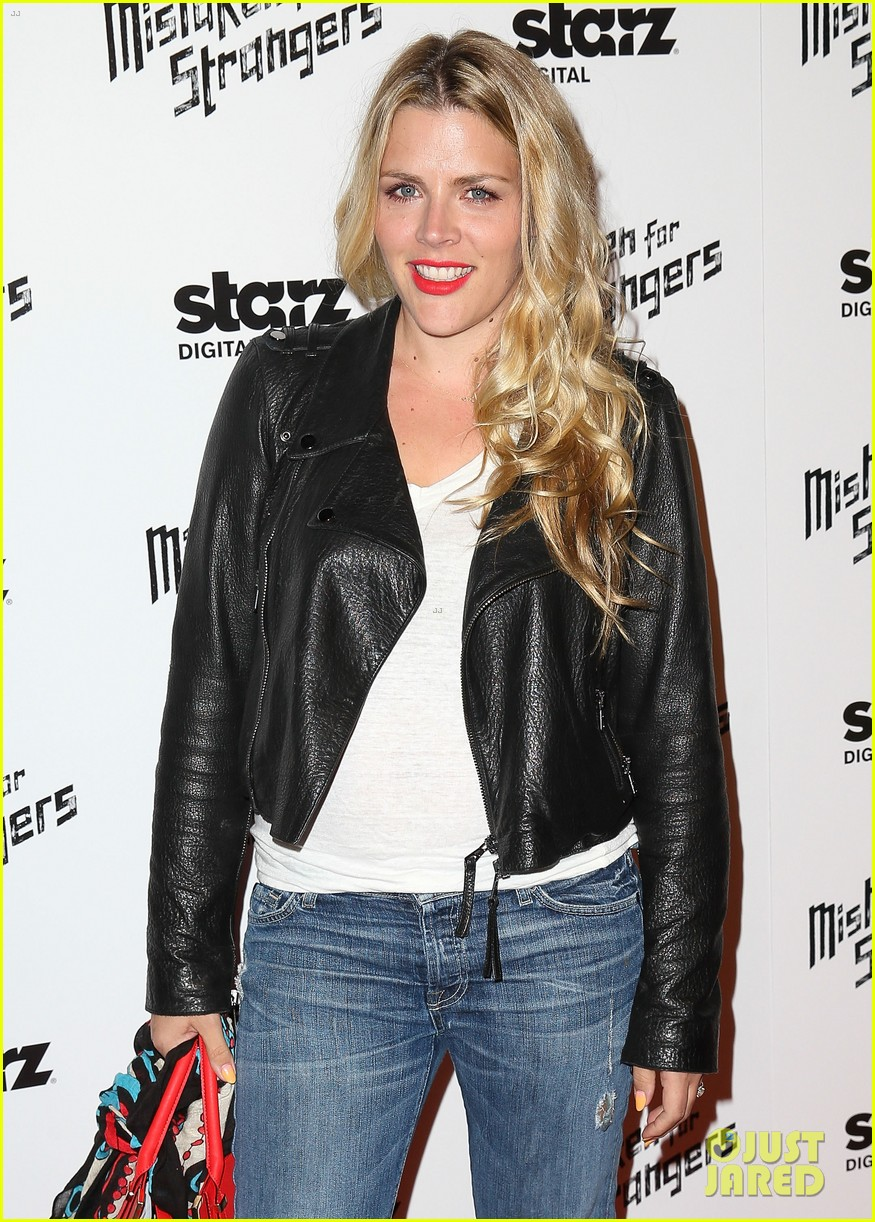 busy philipps darren criss step out for mistaken for strangers screening 163078776