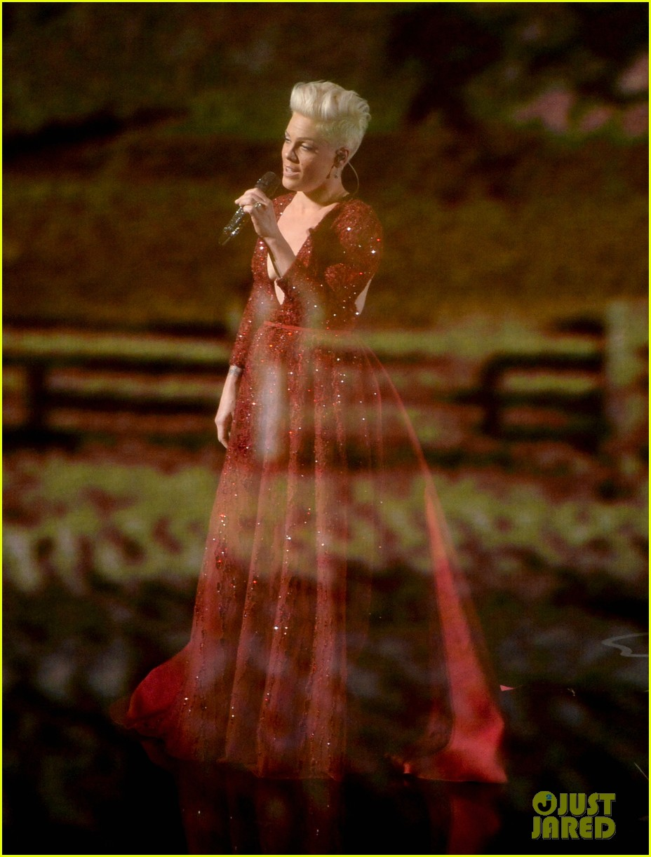 pink over the rainbow wizard of oz oscars 2014 watch now 033064135