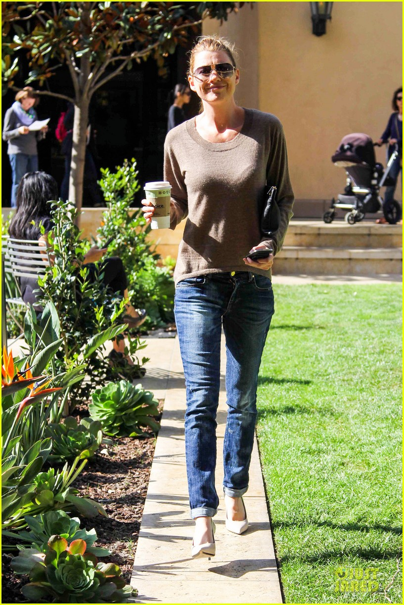 ellen pompeo satisfies french craving with bouchon 013072325