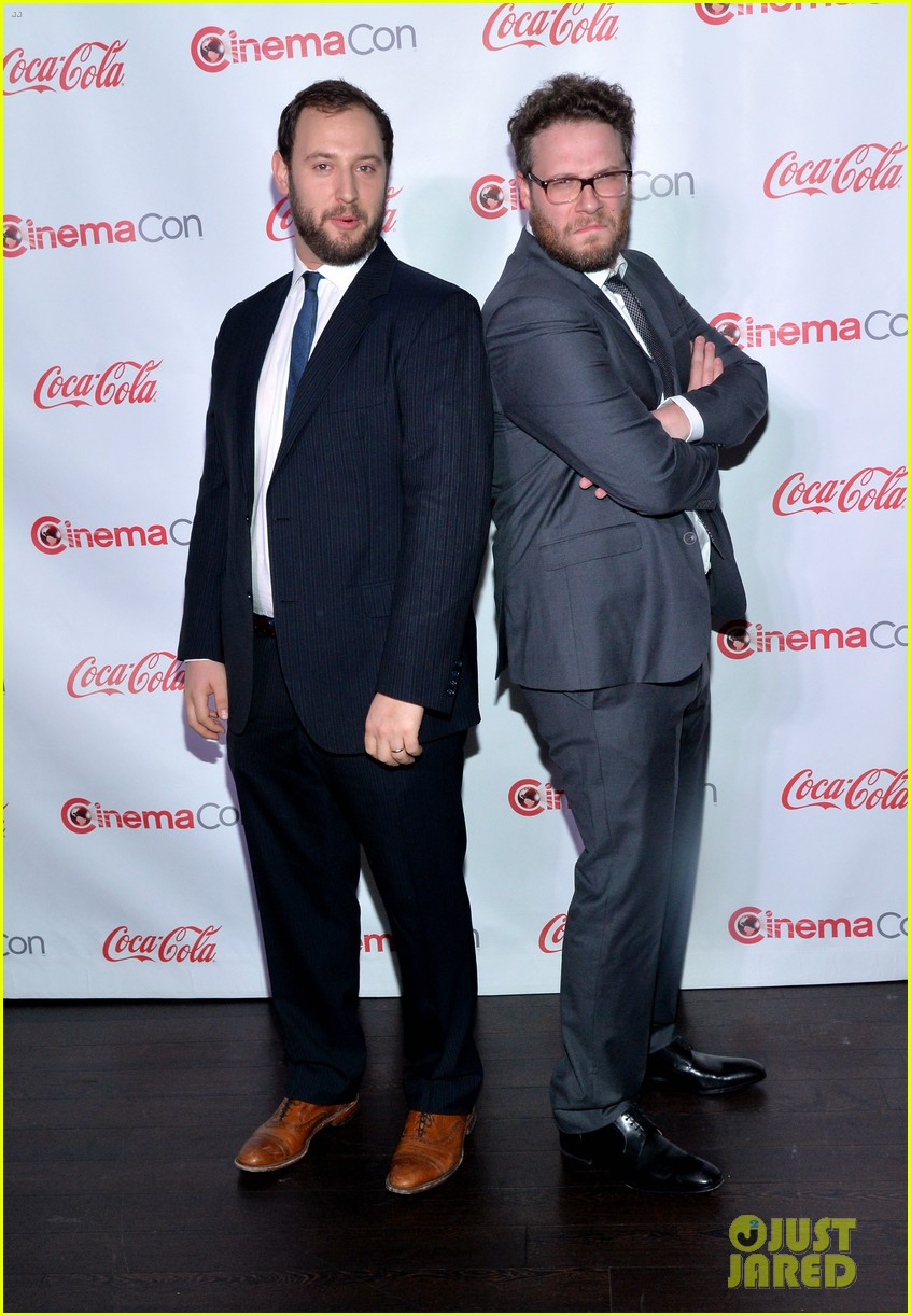chris pratt seth rogen leslie mann cinemacon awards 28