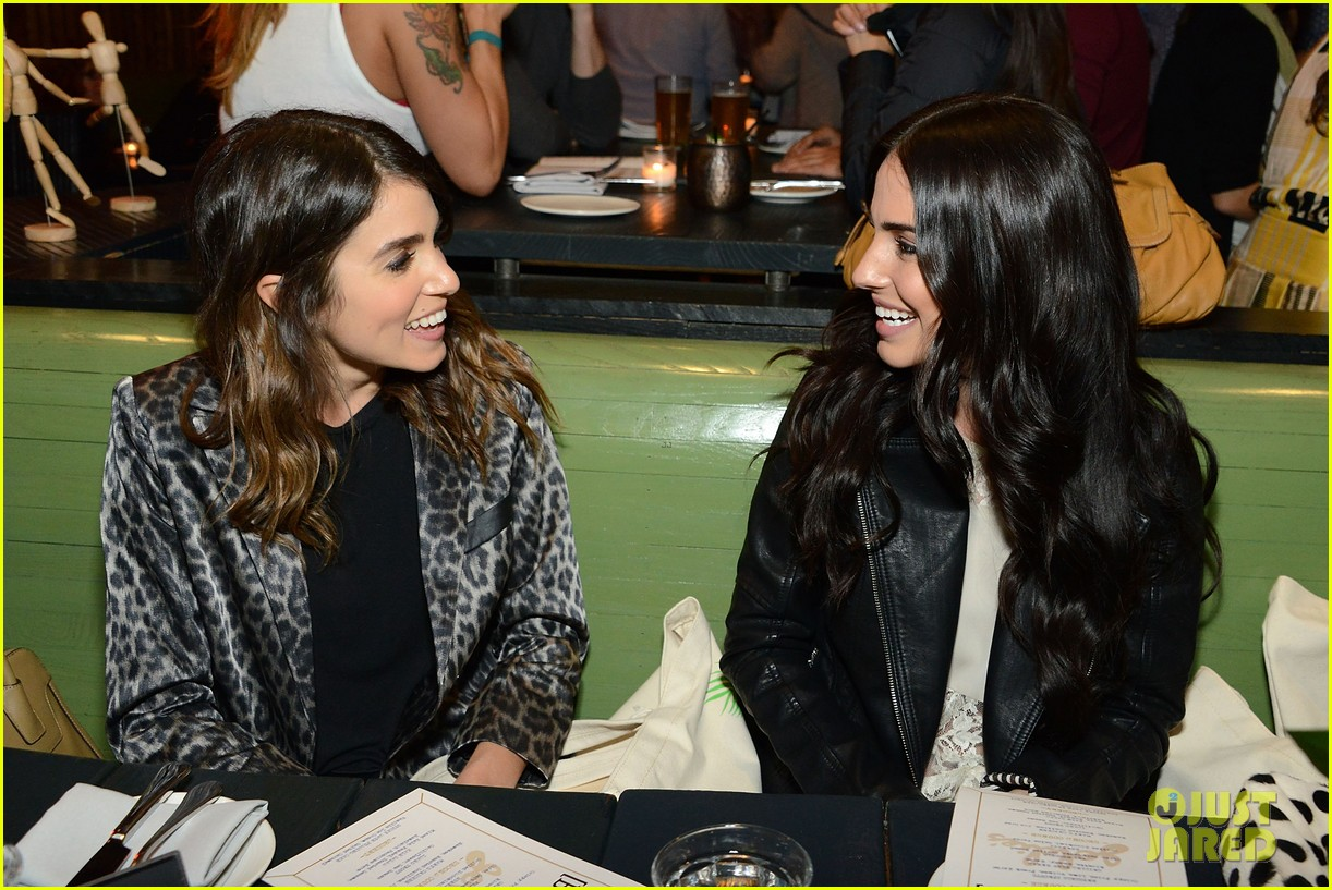 nikki reed jessica lowndes attend blanknycs celebration at goldies 123075227