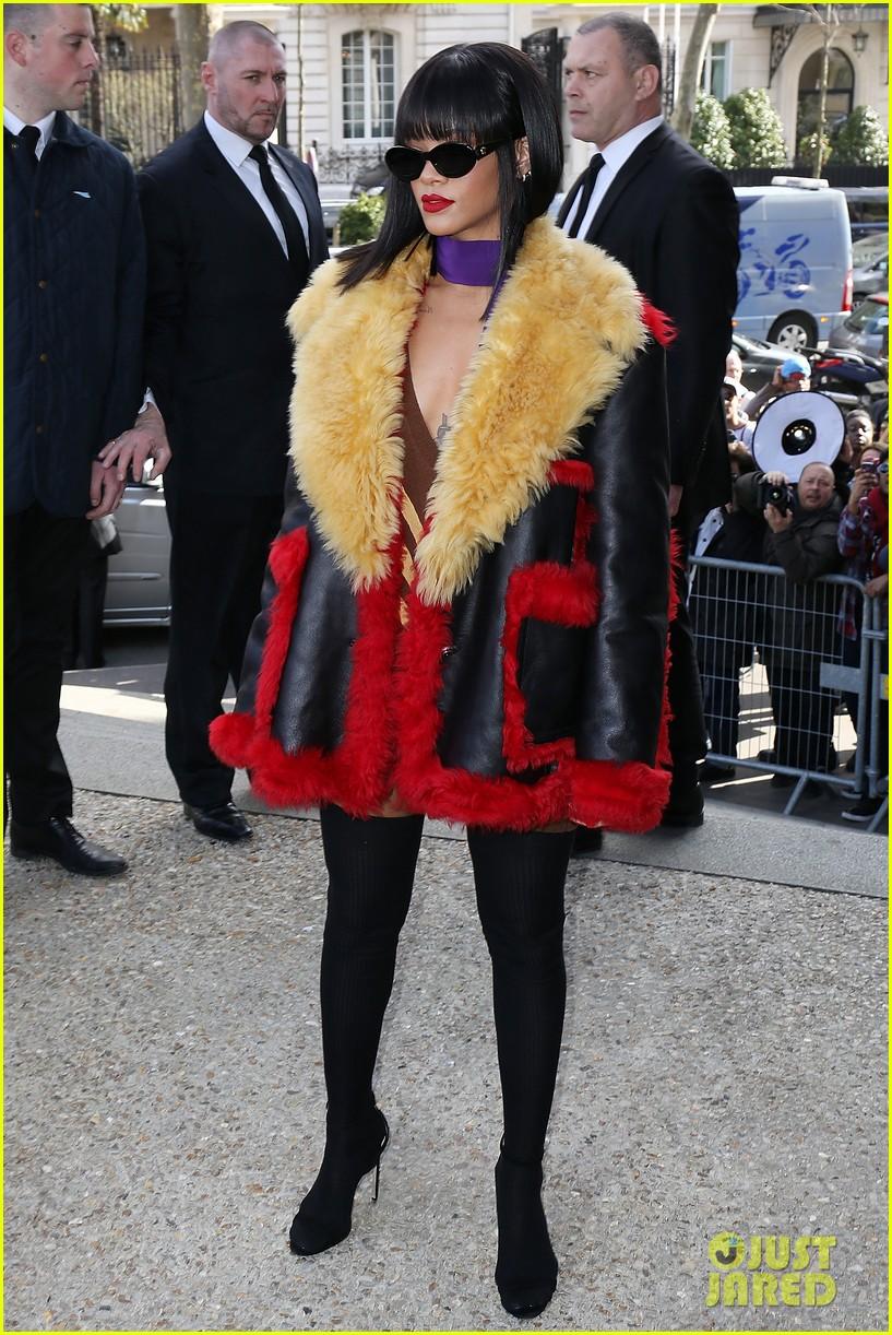 rihanna brings her star power to miu miu fashion show 053066506