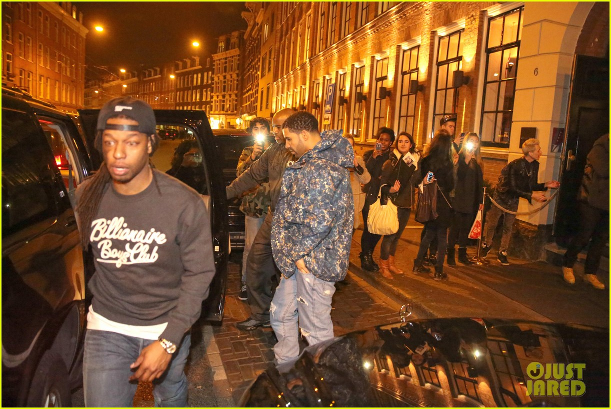 rihanna drake spotted on dinner date in amsterdam 223067652