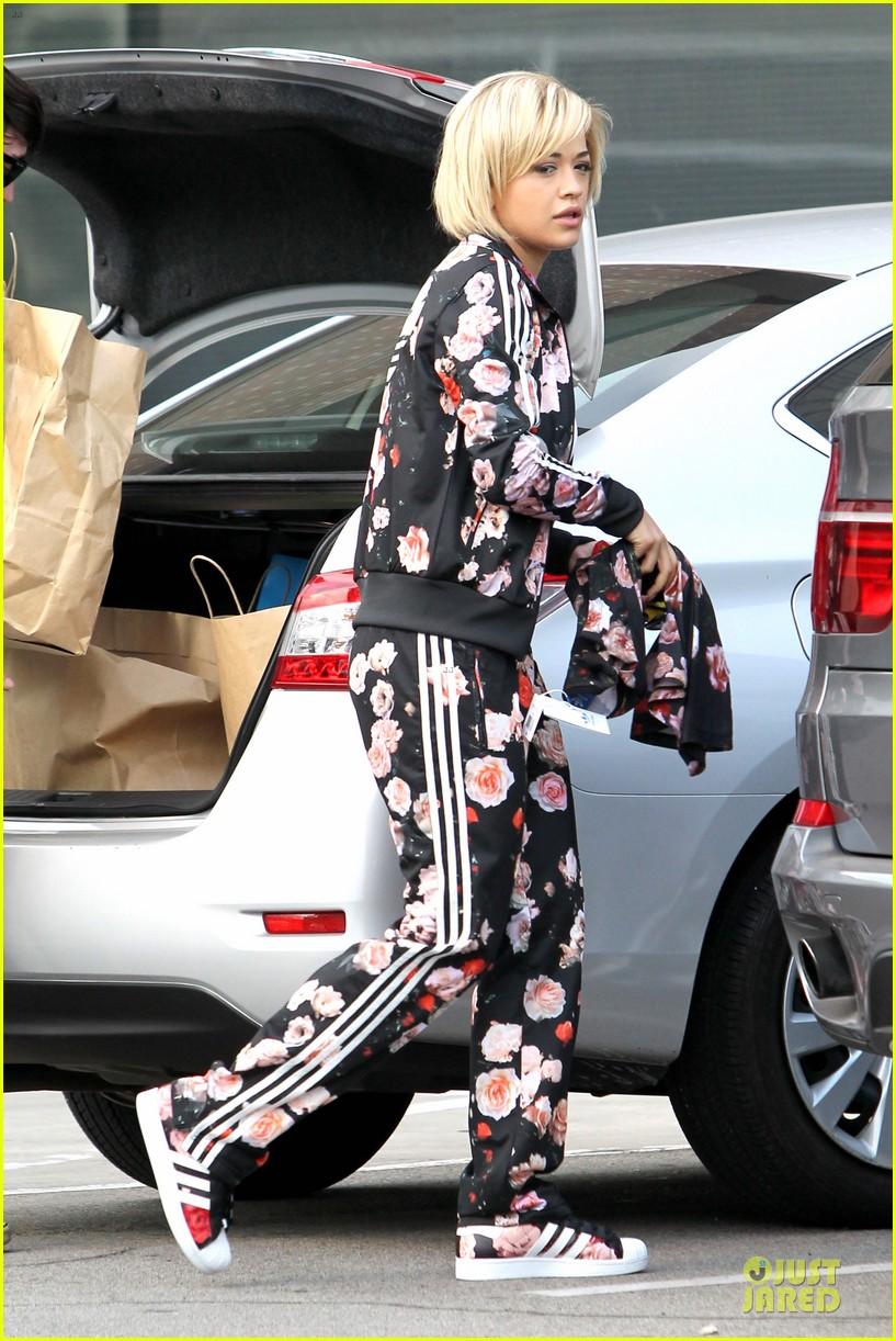 rita ora floral track suit sexy 163078184