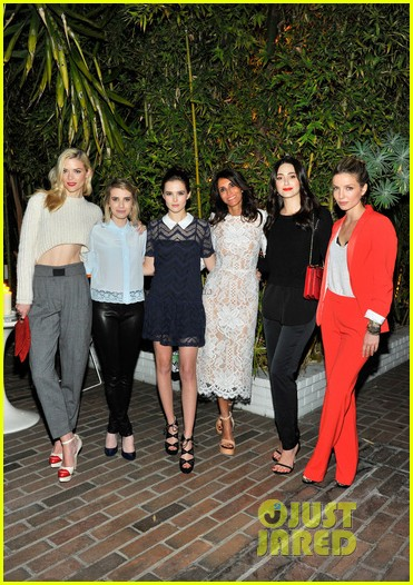 emmy rossum jaime king sandro paris celebration 05