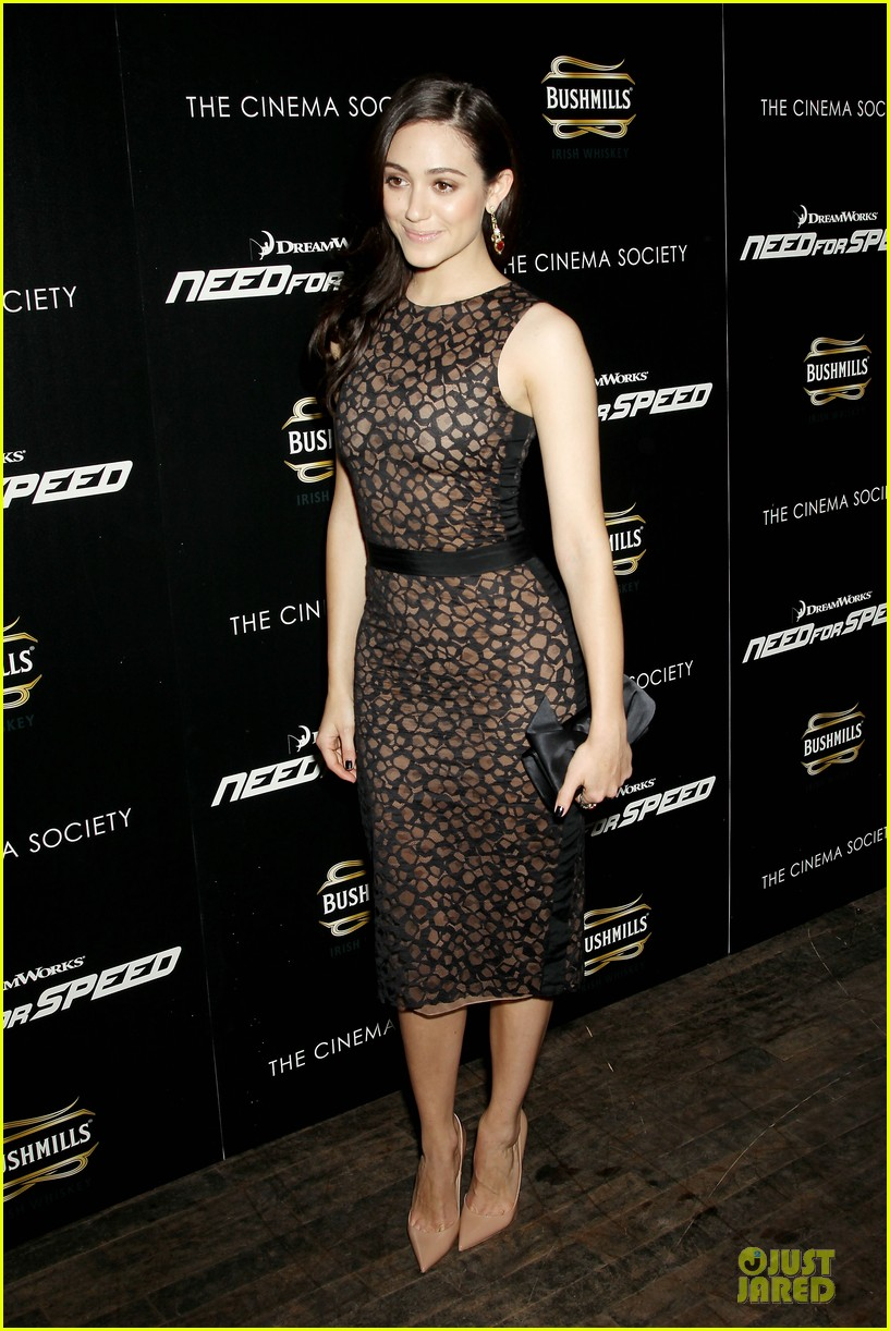 emmy rossum has a sexy need for speed in nyc 123070166