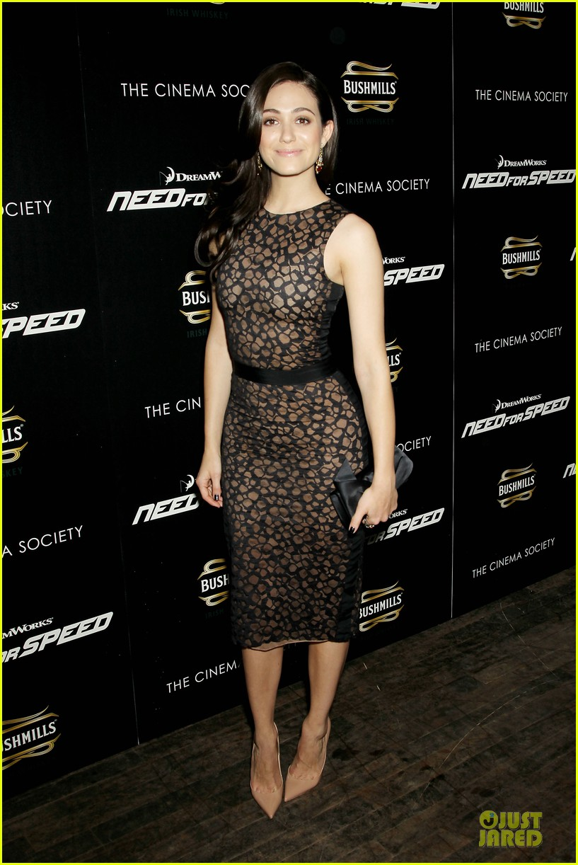 emmy rossum has a sexy need for speed in nyc 133070167