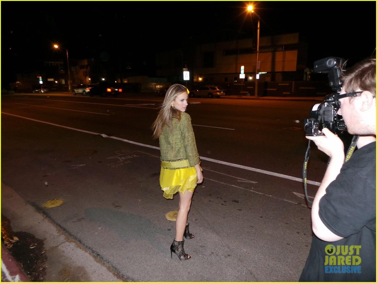 halston sage spotlight behind the scenes 05