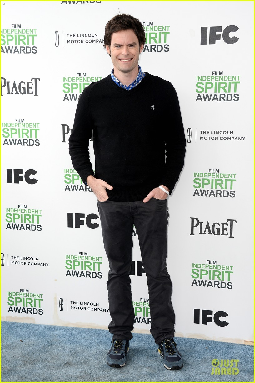 andy samberg bill hader expressive presenters at independent spirit awards 2014 033063067