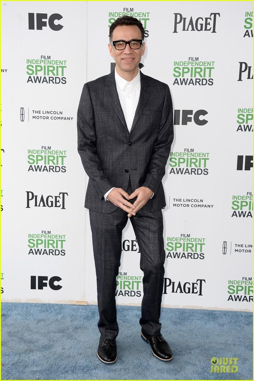 andy samberg bill hader expressive presenters at independent spirit awards 2014 053063069