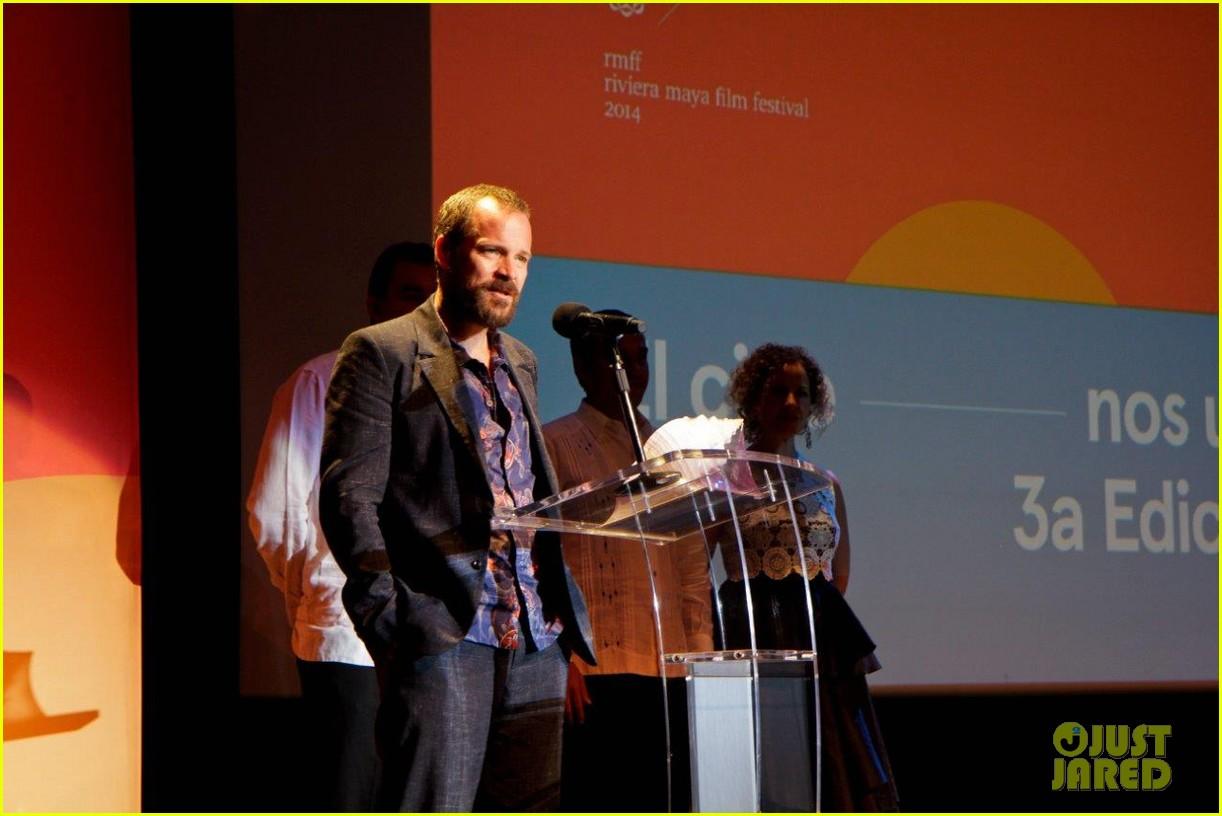 peter sarsgaard presents film at riviera maya film festival 103070982