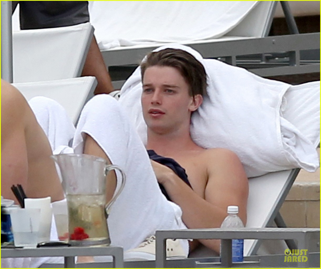 patrick schwarzenegger friday better with shirtless body 073080848