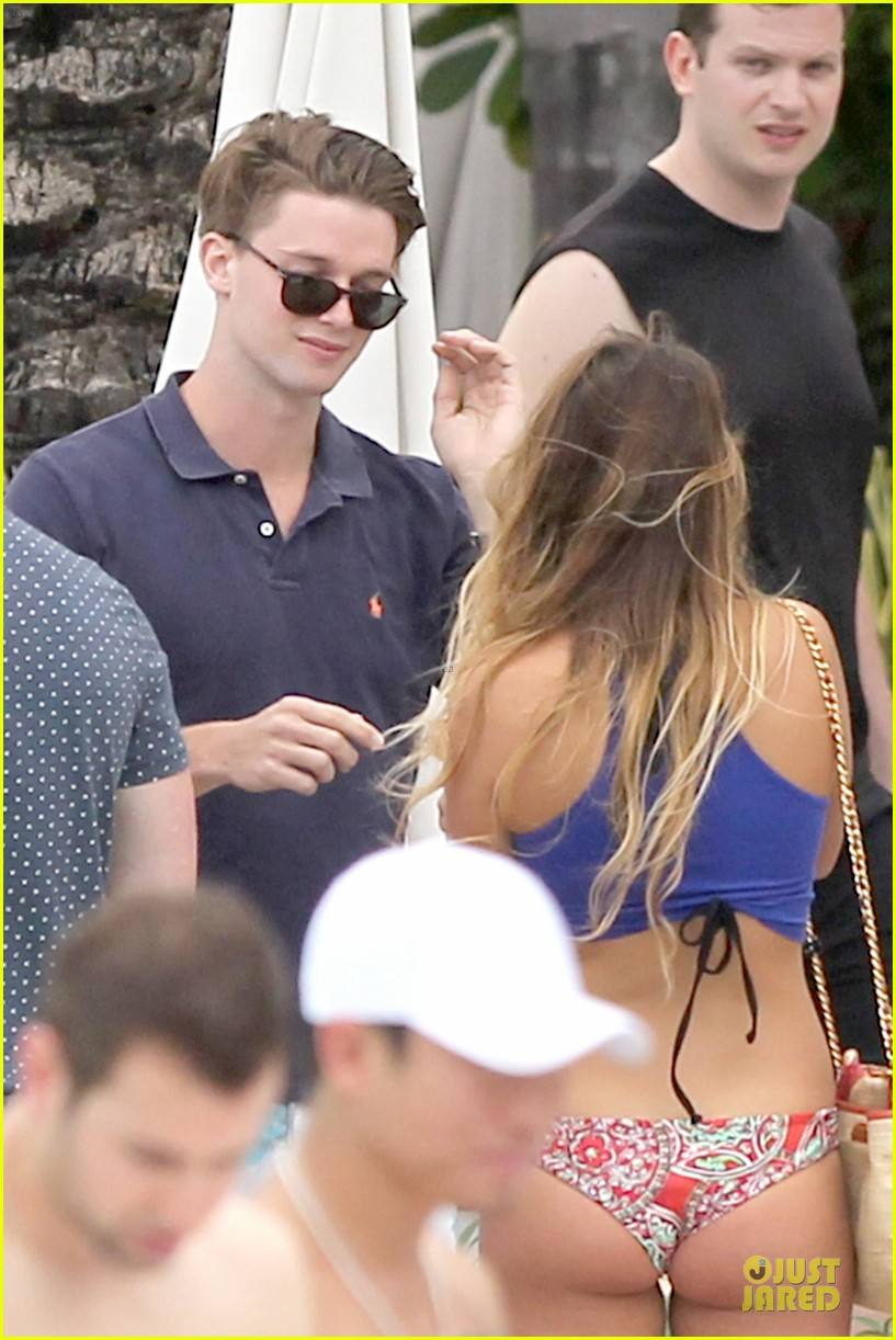 patrick schwarzenegger friday better with shirtless body 083080849