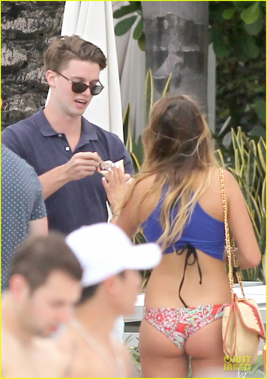 patrick schwarzenegger friday better with shirtless body 093080850