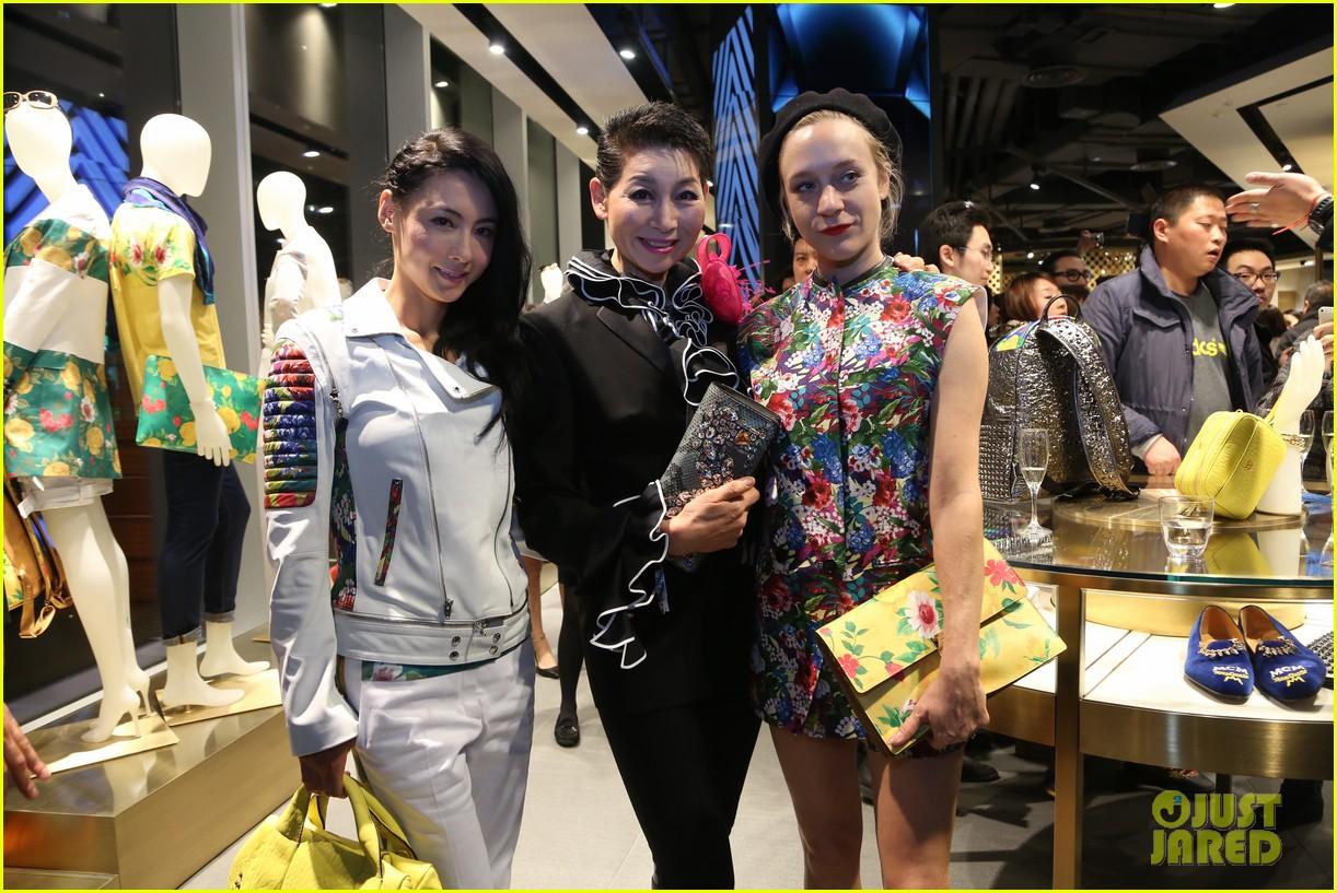 chloe sevigny mcm shanghai opening 053068657