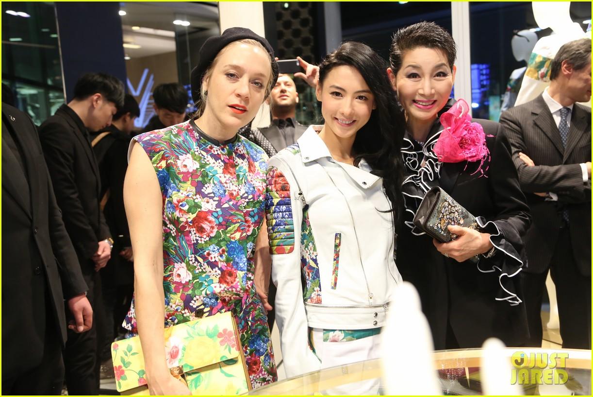 chloe sevigny mcm shanghai opening 063068658